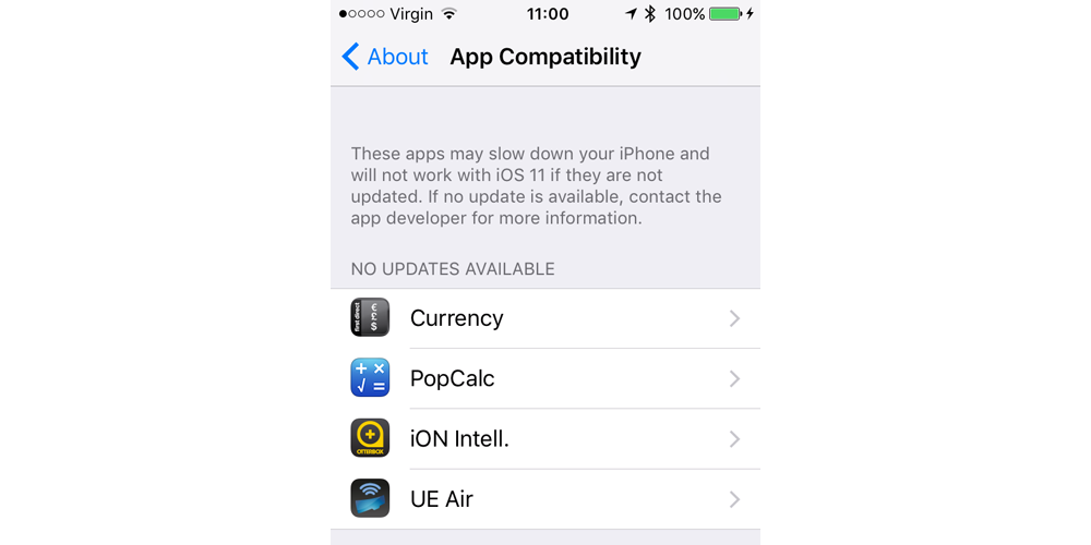 PSA: iOS11 and the 32-bit support crusade!